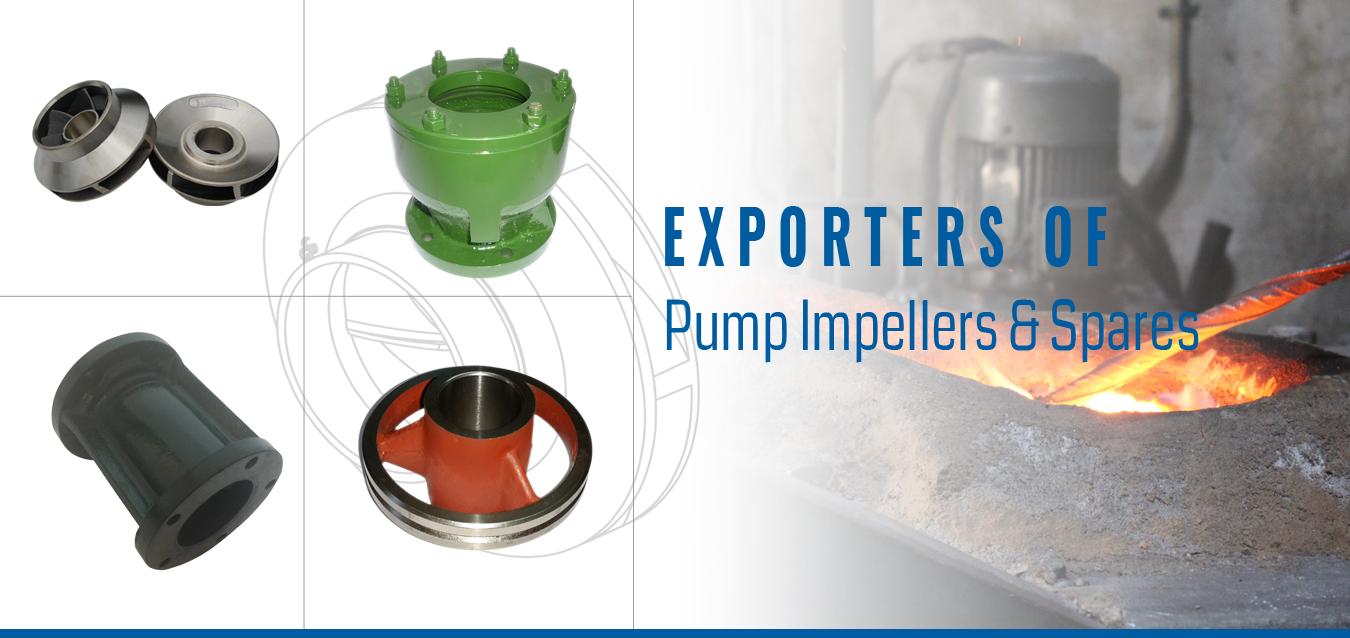 Manufacturer & Exporter of Pump Impellers